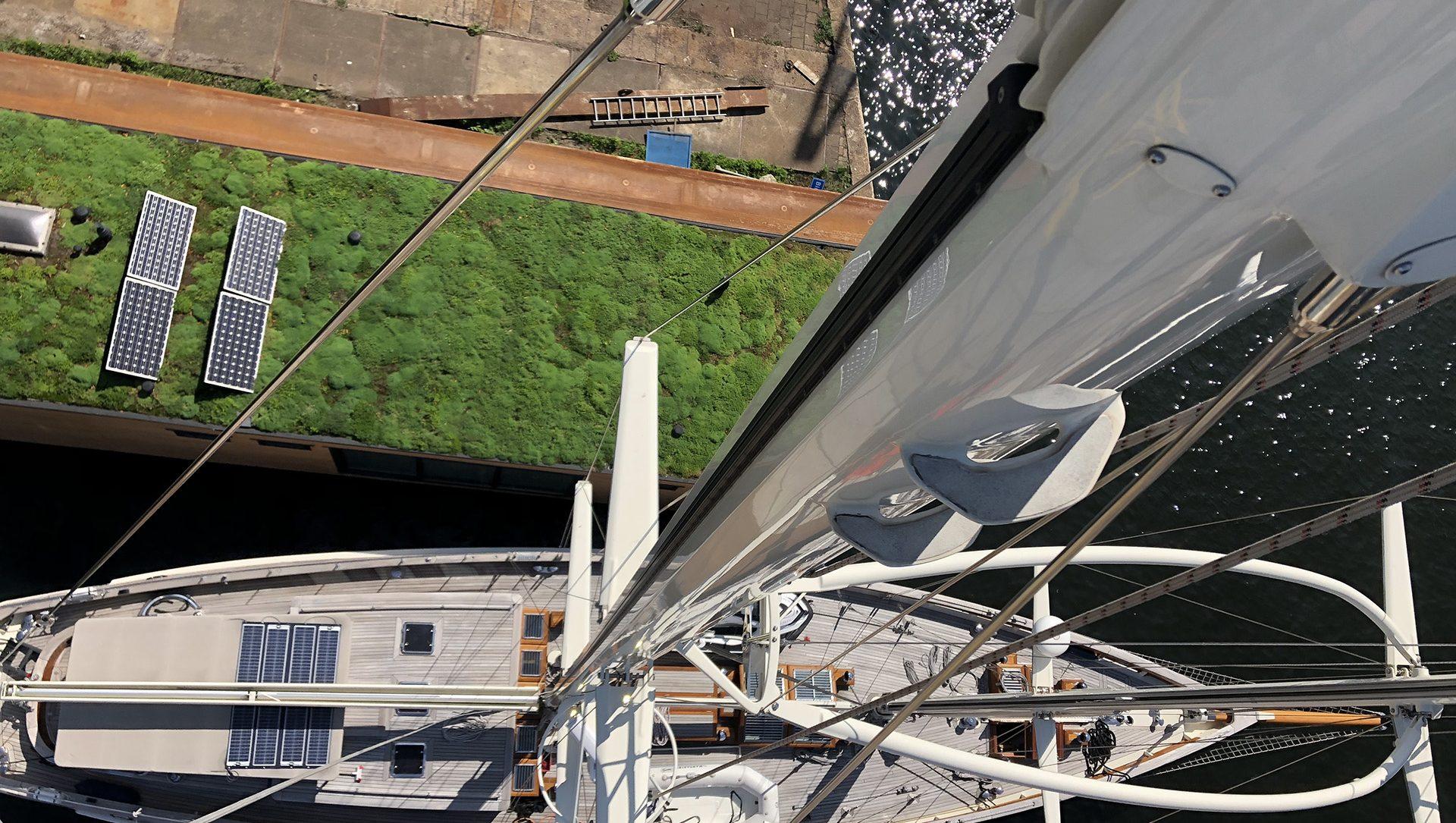 1 tons mast crane